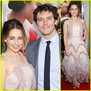 Emilia Clarke & Sam Claflin Feel the Love at 'Me Before You' Premiere