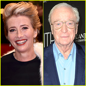 Emma Thompson & Michael Caine Speak Out Against 'Social Media Actors'