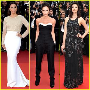 Eva Longoria & Victoria Beckham Kick Off Cannes Film Festival 2016