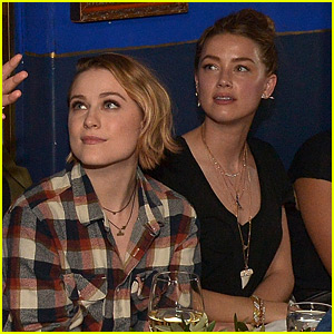 Evan Rachel Wood Defends Amber Heard Amid Comments About Her Sexuality