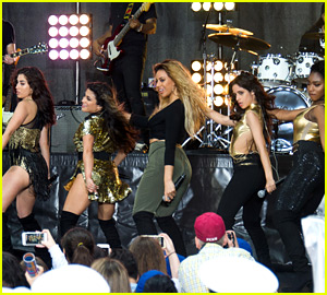 Fifth Harmony Performs Four Songs for 'Today Show' Concert!