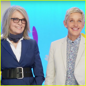 'Finding Dory' Stars Ellen DeGeneres & Diane Keaton Send Sweet Mother's Day Message