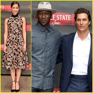 Gugu Mbatha-Raw, Mahershala Ali, & Matthew McConaughey Promote 'Free State of Jones'