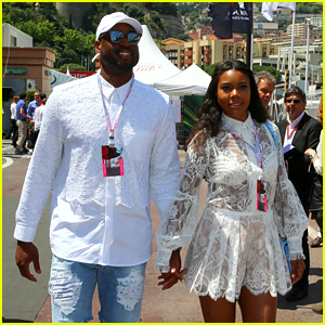 Gabrielle Union & Dwyane Wade Couple Up for Grand Prix