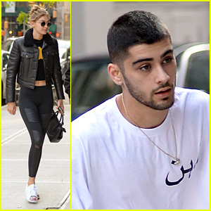 Gigi Hadid Meets Up With Her 'Baby' Zayn Malik