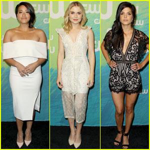 Gina Rodriguez & Rose McIver Stun at CW Upfronts 2016