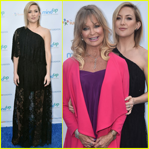 Goldie Hawn & Kate Hudson Have a Mother-Daughter Moment at Her Love In For Kids Event