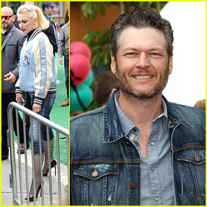 Gwen Stefani Joins Blake Shelton for 'Angry Birds' Premiere