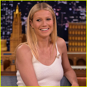 Gwyneth Paltrow Brings Apple to Visit Dad Chris Martin at Work