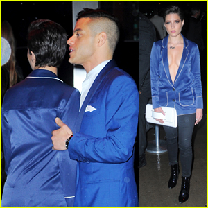 Halsey & Rami Malek Mingle in Matching Blazers at 2016 Met Gala After Party