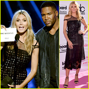 Heidi Klum & Michael Strahan Present On Stage at Billboard Music Awards 2016