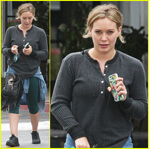 Hilary Duff Shares New Snippet From Recording Session!