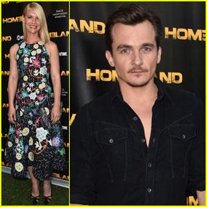 Claire Danes & Rupert Friend Attend 'Homeland' Emmy Event