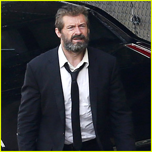 Hugh Jackman Sports Scruffy Beard for First 'Wolverine 3' Set Photos