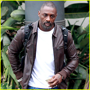 Idris Elba Flies to Cape Town for More Work on 'Dark Tower'