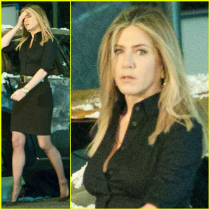 Jennifer Aniston Continues 'Office Christmas Party' in Atlanta