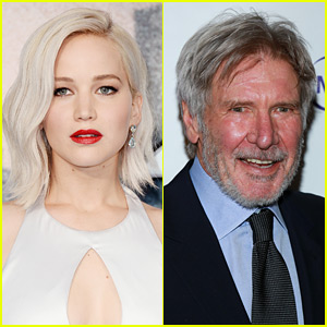 Jennifer Lawrence Embarrassed Herself in Front of Harrison Ford
