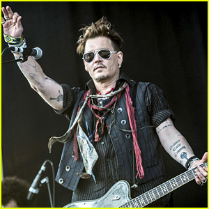 Johnny Depp Performs in Stockholm Amid Boycott Threats