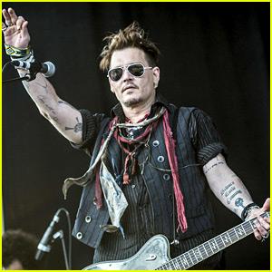Johnny Depp Performs in Stockholm Amid Boycott Threats