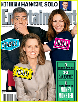 Julia Roberts, George Clooney, & Jodie Foster Take EW's New Cover!