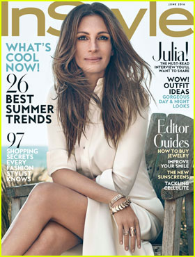 Julia Roberts is InStyle's June 2016 Cover Beauty