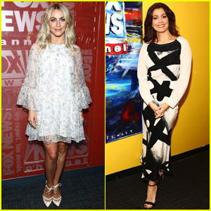 Julianne Hough & Bellamy Young Stop By 'Fox & Friends'