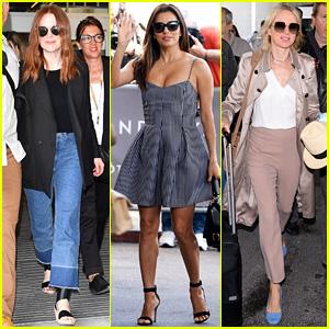 Julianne Moore, Eva Longoria, & More Arrive for Cannes Film Festival 2016