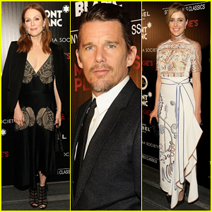 Julianne Moore Joins 'Maggie's Plan' Cast At NYC Premiere!