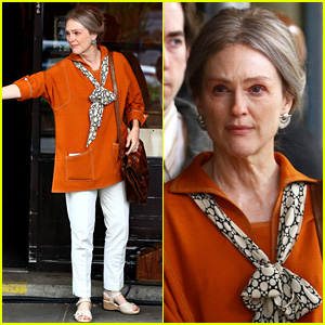Julianne Moore Sports Different Look for 'Wonderstruck'