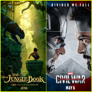 The Jungle Book' Keeps No  1 Box Office Spot, 'Captain America