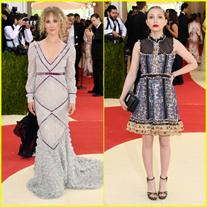 Juno Temple Has 'Best Prom Date Ever' for Met Gala 2016