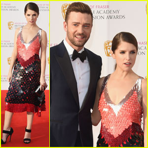 Justin Timberlake & Anna Kendrick Team Up for British Academy Television Awards 2016 in London