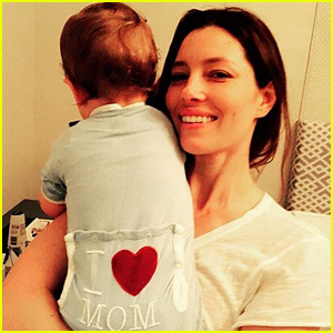 Justin Timberlake Shares New Photo of Son Silas, Calls Jessica Biel a 'MILF' on Mother's Day!