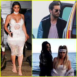 Kardashian Family Helps Scott Disick Celebrate His Birthday