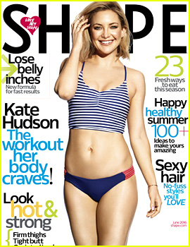 Kate Hudson Shows Off Her Flawless Body for 'Shape' Cover!