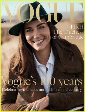 Kate Middleton Takes Her First Magazine Cover for 'Britsh Vogue'