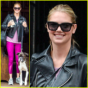 Kate Upton Is All Smiles After Engagement Announcement