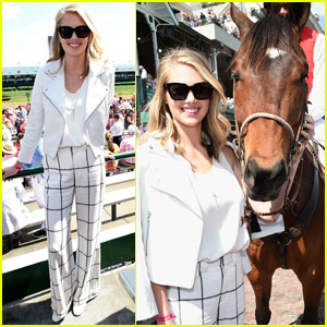 Kate Upton is the First Lady at the Kentucky Derby