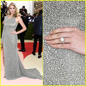 Kate Upton Is Engaged to Justin Verlander, Shows Off Ring on Met Gala 2016 Red Carpet!
