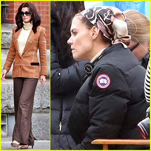 Katie Holmes Gets Behind the Camera as Jackie O