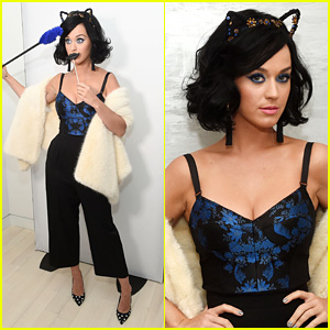 Katy Perry Launches New CoverGirl Katy Kat Line!