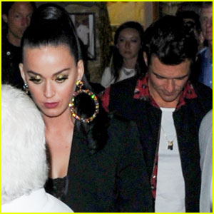 Katy Perry & Orlando Bloom Couple Up for Cannes Dinner