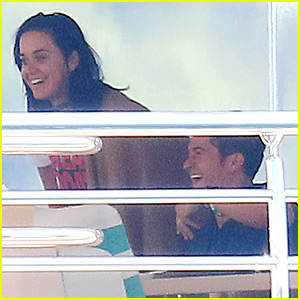 Katy Perry & Orlando Bloom Relax Together in Cannes