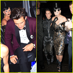 Katy Perry Switches It Up For Met Gala 2016 After Party with Orlando Bloom!
