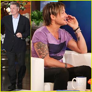 Keith Urban Talks 10 Year Anniversary with Nicole Kidman On 'Ellen' - Watch Now!