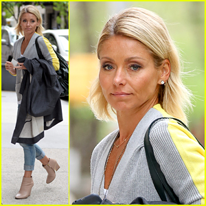 Kelly Ripa Heads for Home After Awkward 'Live!' Moment