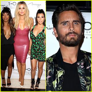 Khloe & Kourtney Kardashian Attend Scott Disick's Vegas Birthday Party!
