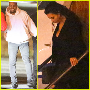 Kim Kardashian & Kanye West Arrive Home From Cuba
