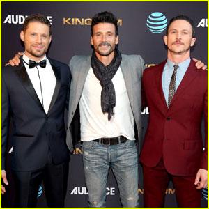 Matt Lauria & Jonathan Tucker Attend 'Kingdom' Premiere