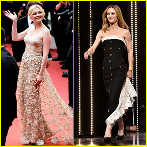 Kirsten Dunst & Vanessa Paradis Wave Goodbye to Cannes 2016